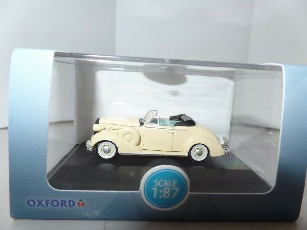 Oxford USA  87BS36002  BS36002 1/87 Buick Special Convertible Coupe 1936 Cream